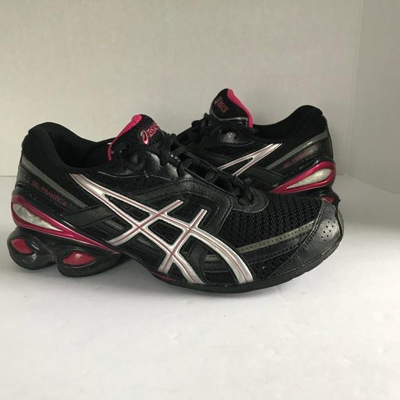 652ecb93981e Asics Shoes - Womens ASICS Gel frantic 6 athletic black pink 6.5
